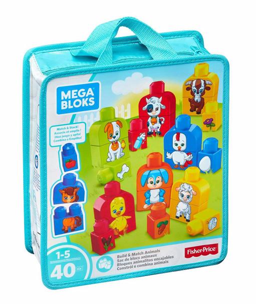 Mega Bloks Building Basics Build & Match Animals