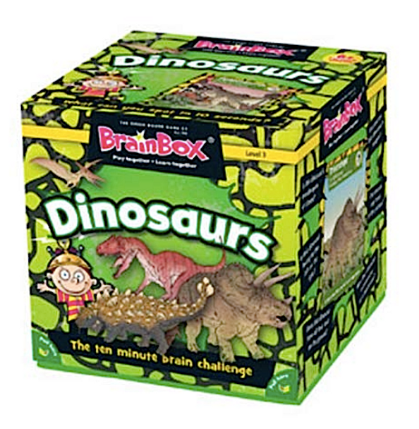 Brainbox Dinosaurs by the Green Board Game Co.