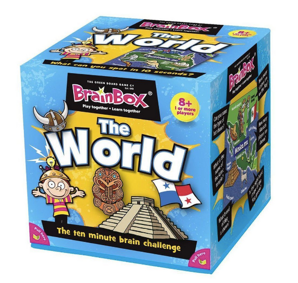 Brainbox The World by the Green Board Game Co.