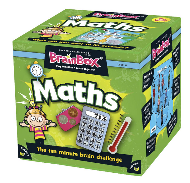 Brainbox Maths by the Green Board Game Co.