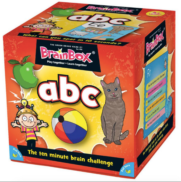 Brainbox ABC by the Green Board Game Co.