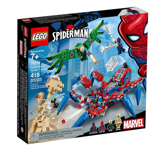 LEGO® Marvel Super Heros 76114 Spider-Man's Spider Crawler