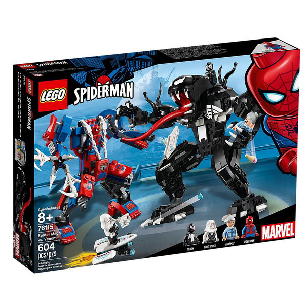LEGO® Marvel Super Heros 76115 Spider Mech vs. Venom