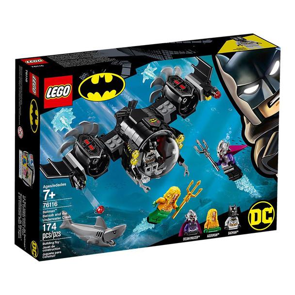 LEGO® DC Super Heros 76116 Batman™ Batsub and the Underwater Clash