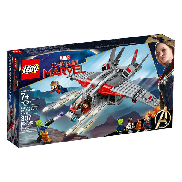 LEGO® Marvel Super Heros 76127 Captain Marvel and The Skrull Attack