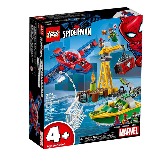 LEGO® Marvel Super Heros 76134 Spider-Man: Doc Ock Diamond Heist