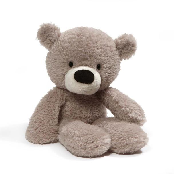GUND Fuzzy Grey Bear - 34cm