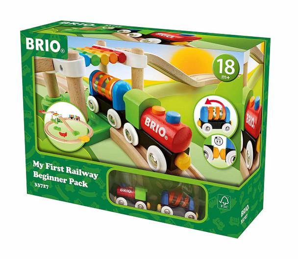 BRIO My First Railway Beginner Pack 18 pcs (33727)