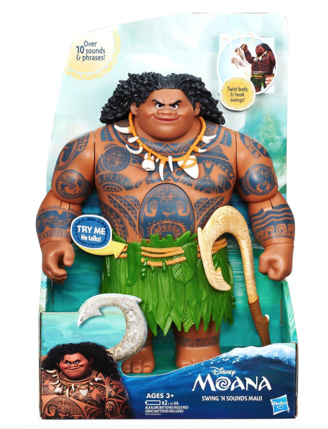 Hasbro Disney Moana Swing 'n Sounds Maui