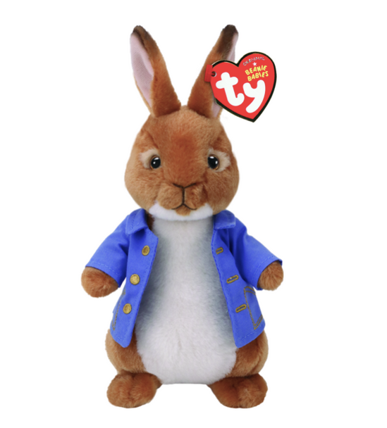 TY Peter Rabbit Small Plush 22cm