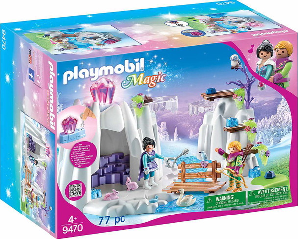 Playmobil Magic Crystal Diamond Hideout Building Set