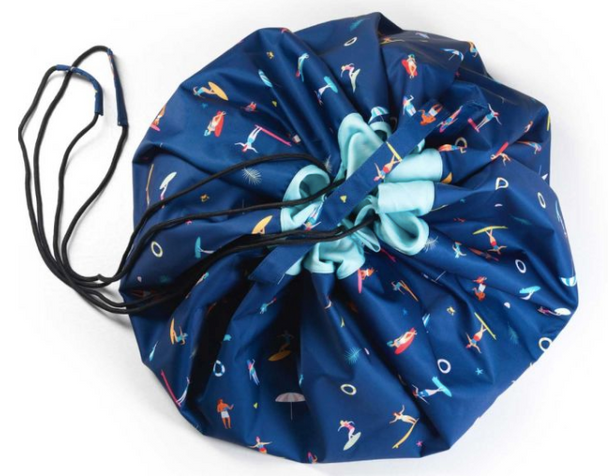 Play&Go Waterproof Toy Storage Bag in Outdoor Surf Print - 140 cm