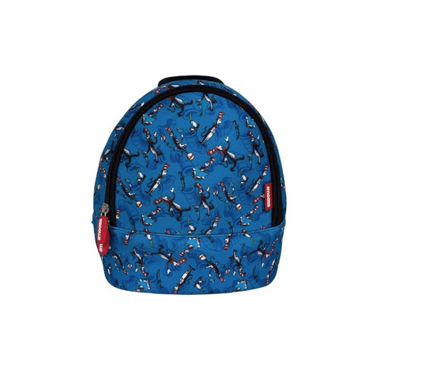 Dr. Seuss The Cat In The Hat Backpack Mini - Blue Print