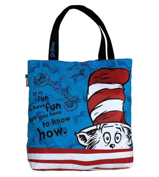 Cat in the Hat Tote