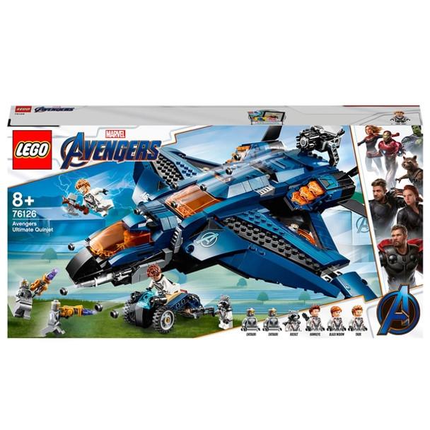 LEGO Marvel Super Heroes Avengers Avengers Ultimate Quinjet 76126