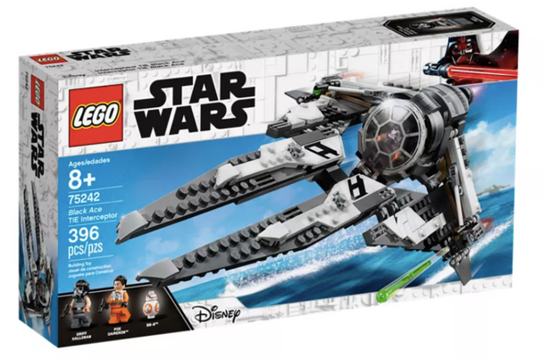 LEGO® Star Wars Black Ace TIE Interceptor 75242