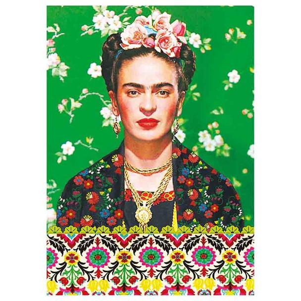 Kitsch Kitchen Frida Kahlo A6 Notebook - Green