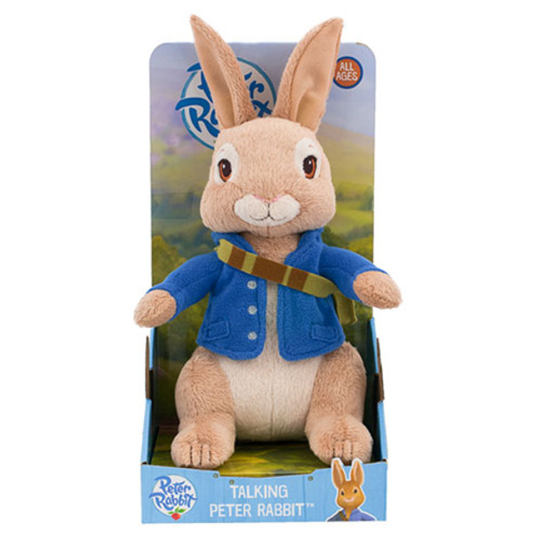 Peter Rabbit Talking Plush Toy - 25cm