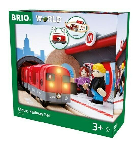 Brio World Metro 33513