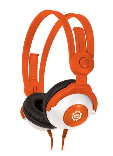 Kidz Gear Wired Headphones for Kids - Orange