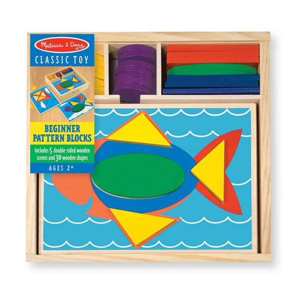 Beginner Pattern Blocks by Melissa & Doug