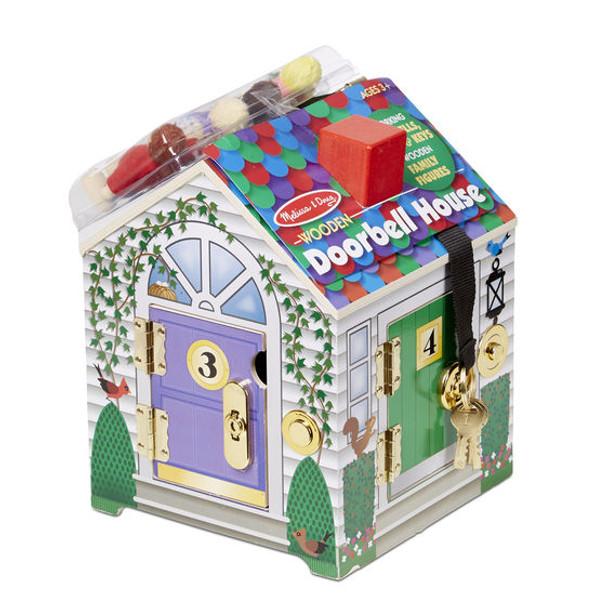 Wooden Doorbell House by Melissa & Doug