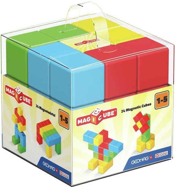 GEOMAG 24 Piece Full Colour Magicube