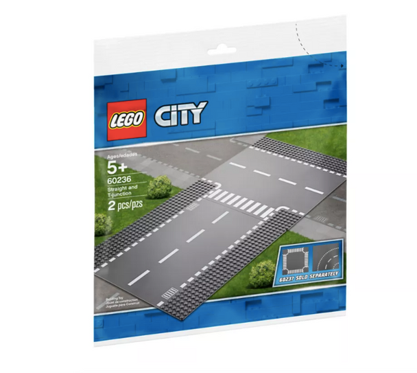 LEGO® Straight and T-junction 60236