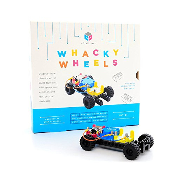 Whacky Wheels by Circuit Cubes  Educational Stem Kit  Toy Creative Discovery Set