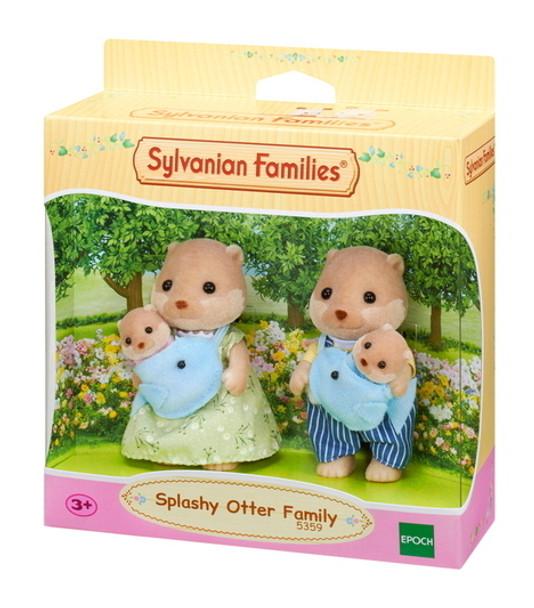 Sylvanian Families Splashy Otter Family (SF5359)