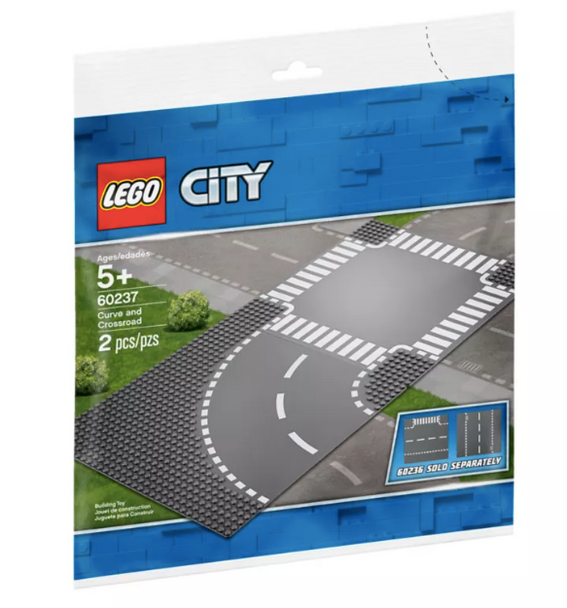 LEGO® Curve and Crossroad 60237