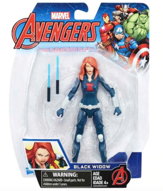 Marvel Avengers Black Widow Action Figure by Hasbro - 15cm
