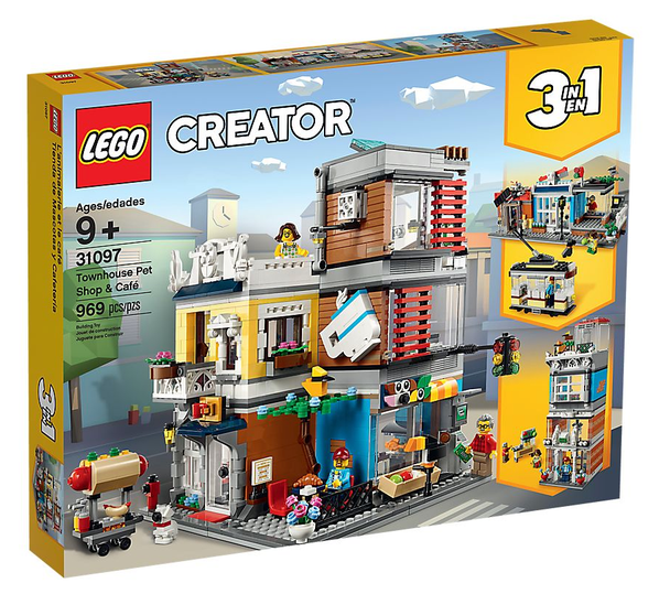 LEGO® Creator 31097 Townhouse Pet Shop & Café