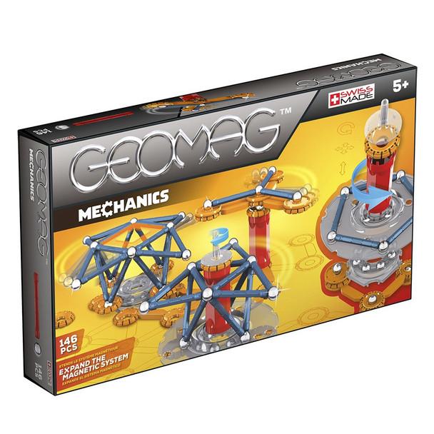 GEOMAG Mechanics 146 Piece Magnetic Motion Building Set