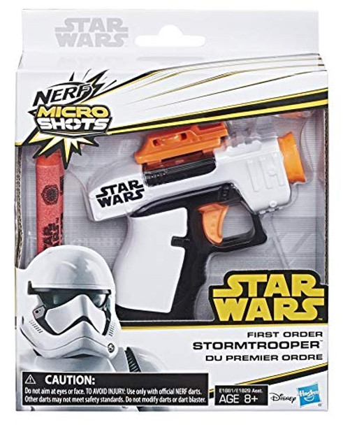 NERF MicroShots Star Wars First Order Stormtrooper Blaster