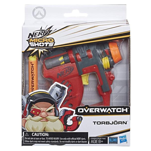 NERF MicroShots Overwatch Torbjorn Blaster