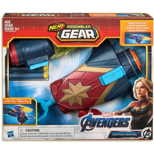 Marvel Avengers NERF Captain Marvel Assembler Gear Upgrades
