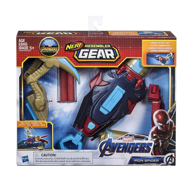 Marvel Avengers: Infinity War NERF Iron Spider Assembler Gear Upgrades