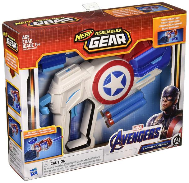 Marvel Avengers: Infinity War NERF Captain America Assembler Gear Upgrades