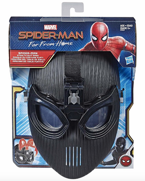Hasbro Marvel Spider-Man Far From Home Stealth Suit Flip Up Mask