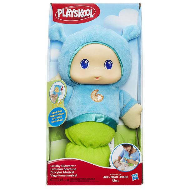Playskool Lullaby Gloworm with Lights & Music - Blue