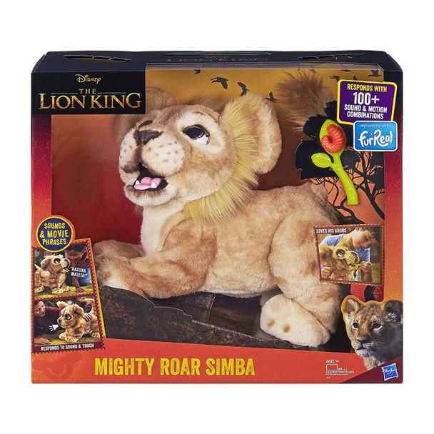 FurReal Friends Disney The Lion King Mighty Roar Simba Interactive Plush