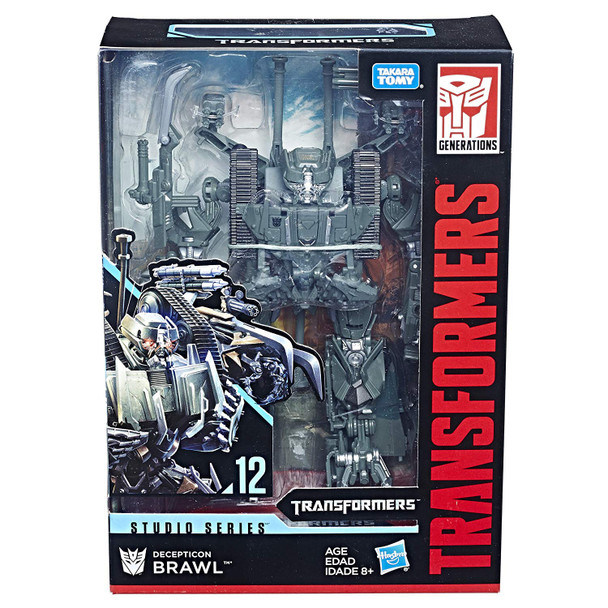 Transformers Generations Studio Series 12 Voyager Class Brawl - 20cm