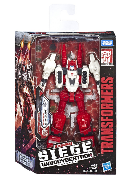Transformers Siege: War for Cybernation Deluxe Class Sixgun Figure