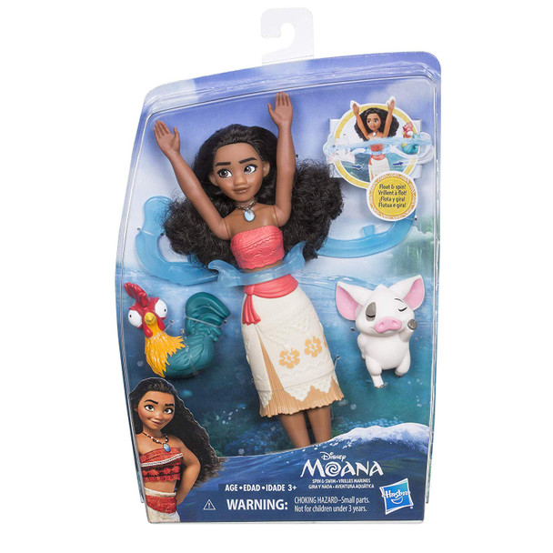 Disney Moana Spin & Swim Water Play Doll