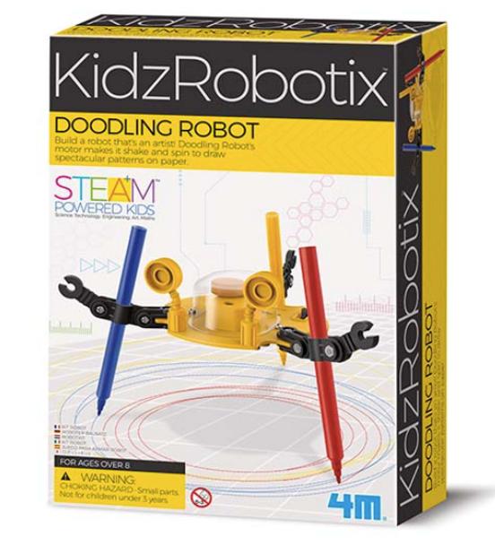 4M Kidz Robotix Doodling Robot