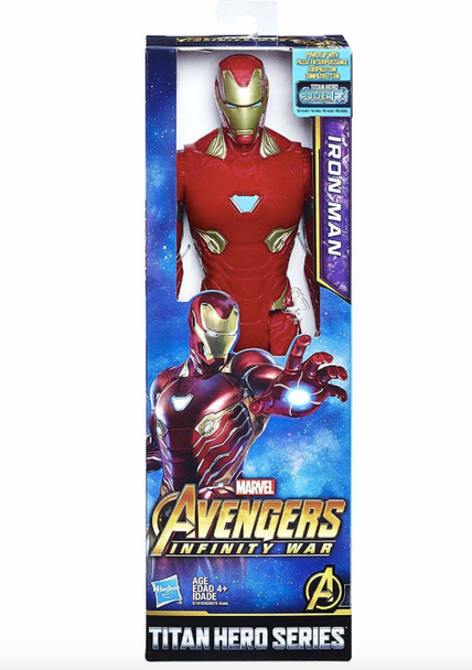 Avengers: Infinity War Titan Hero Series 12-Inch Iron Man Figure