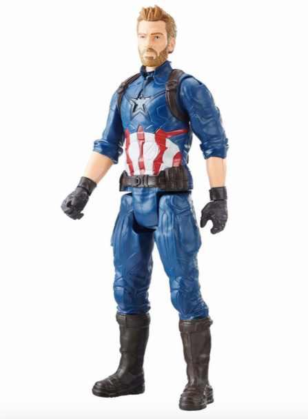 Avengers: Infinity War Titan Hero Series 12-Inch Captain America Figure