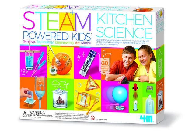 4M STEAM Powered Kids - Deluxe Kitchen Science Kit