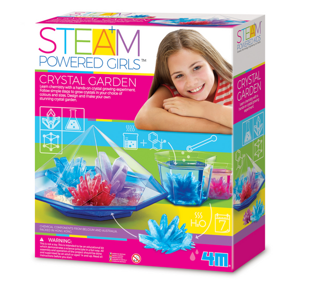4M STEAM Powered Girls - Crystal Garden Kit